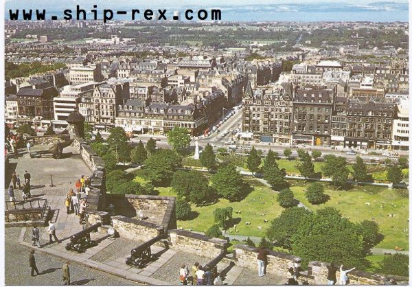 Edinburgh and The Firth of Forth - postcard